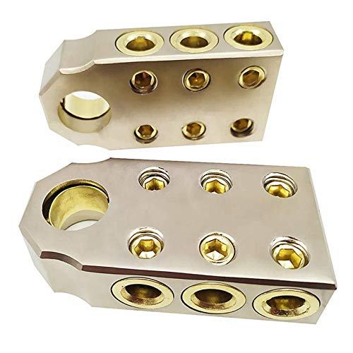 ZHITING 2 set Terminales de Batería de Coche Conector