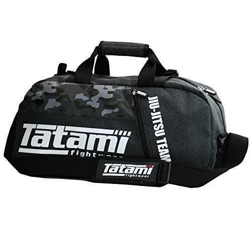 Tatami Ju Jitsu Duffel Sporttasche und Rucksack, Grau/Camo
