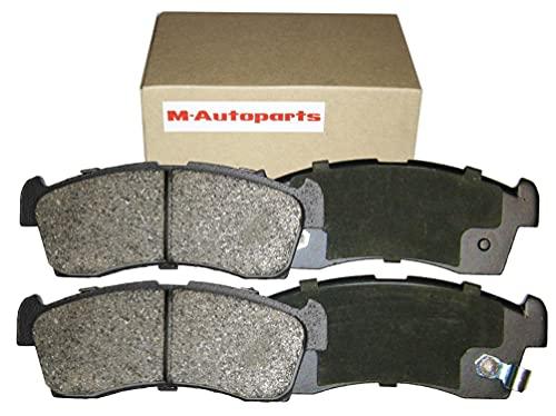 【M-Autoparts】 ブレーキパッド フロント フリード スパイク 1500 DBA-GB3 年式 201110 ~ 201609 ディスクパッド 純正交換用 長寿命 低ダスト 高制動力 高コントロール性能 低ノイズ ローター低攻撃 M0004H047