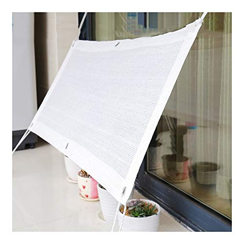 SSRS Pantalla de Tela de sombreado Neto suculentas Protector Solar hidratante for Mascotas Cubierta Pergola de Polietileno, 19 Tamaños portátil, Duradero (Color : White, Size : 4X6M)