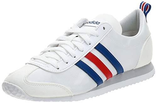 adidas Vs Jog, Zapatillas Hombre, Ftwbla Azurea Escarl, 42 EU