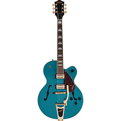 Gretsch G2410TG Streamliner SC Ocean Turquoise - Guitarra semiacústica