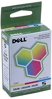 Dell 922, 924, 942, 944, 946, 964 Standard Capacity Color Ink Cartridge (Series 5) (OEM# 310-5375; 310-6966; 310-5884; 310-6971; 310-8236; 310-7162), Part Number J5567