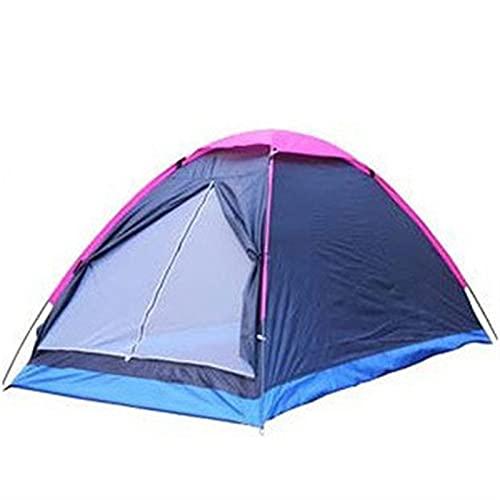Nawxs Doble múltiple de una Sola Capa de una Sola Puerta Impermeable Pareja Tienda Tienda al Aire Libre Camping Camping Playa
