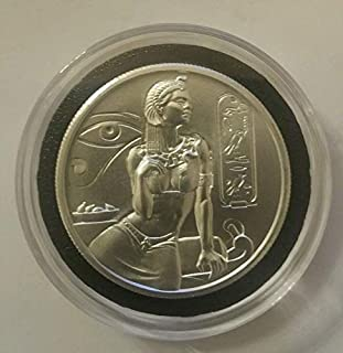 2 oz Elemetal Egyptian God Series Cleopatra High Relief Silver Rounds (New)