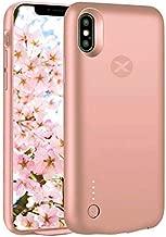 Cover Batteria per iPhone Rosa Oro - Baxet : Accessori Tecnologici