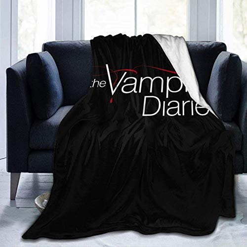The Vampire Diaries Blankets Throws Soft Plush Fuzzy Suitable for Teens Women in The Bedroom Couch Bed Office Sofa All Season