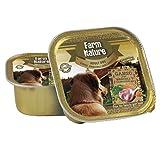 Farm Nature Ganso con Brócoli y Zanahorias Comida Húmedos para Perros 150 G 150 g