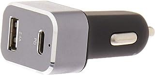 Carregador Veicular Ultra Rápido 30W Com 1 Saída USB-C Power Delivery E 1 Saída USB Comum I2GO - I2GO PRO