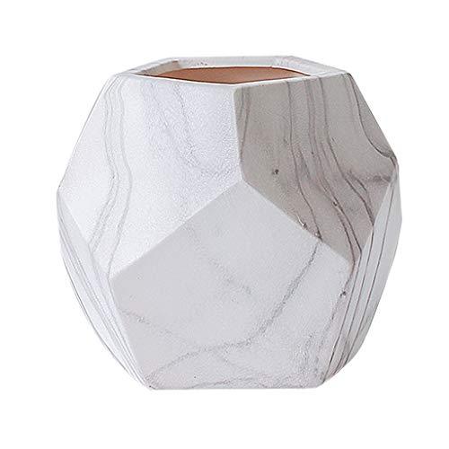 Dfgfdg moderne minimalistische creatieve vaas keramische bloem geometrisch marmer woonkamer tv-kast decoratie ornamenten