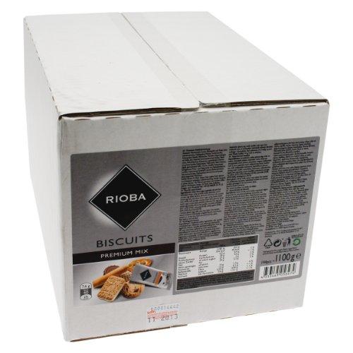 Rioba Premium Mix Biscuits, Premium Gebäckmischung, 144 Stück