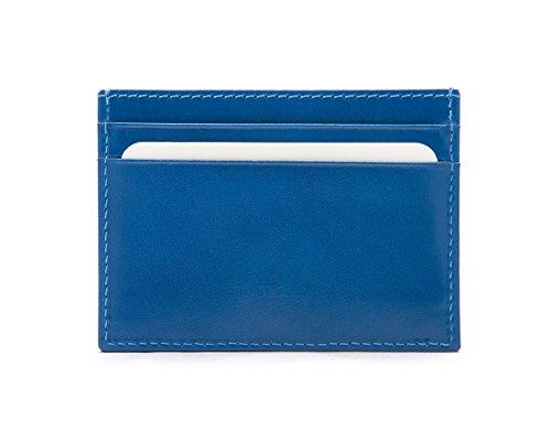 SageBrown Cobalt Flat Credit Card Wallet