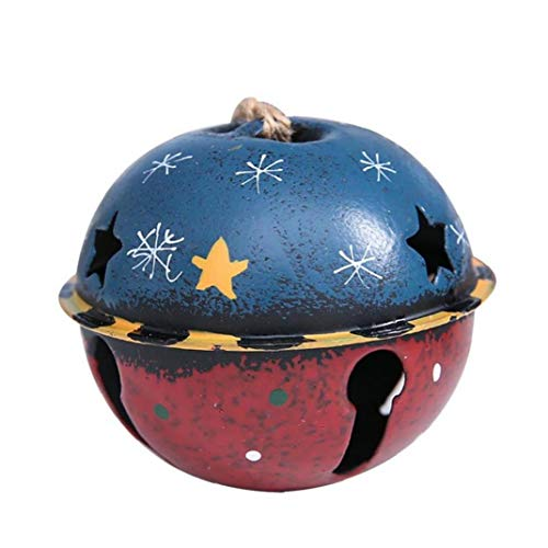 1PC Cascabeles Campanas Partido del árbol de Navidad Decoración Colgantes Crafts Trabajo Hecho a Mano Accesorios...