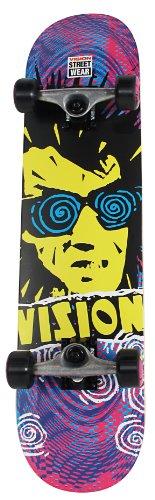 Vision Imaginary Psycho Spiral Skateboard 80x 19,9cm