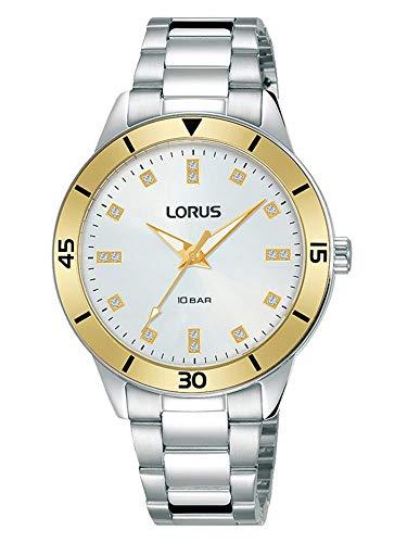 Lorus Reloj Analógico-Digital para Unisexo de Cuarzo con Correa en Resina RG243RX9