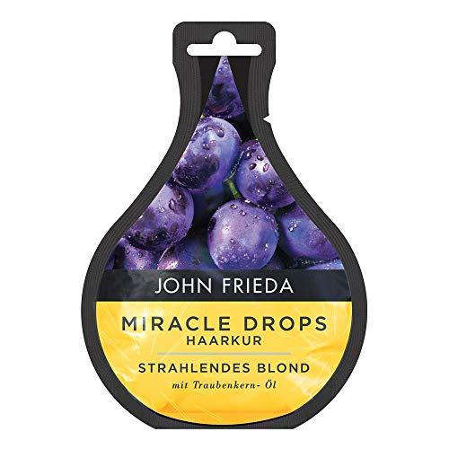 John Frieda Miracle Drops Haarkur Strahlendes Blond mit Traubenkern-Öl, 25 ml