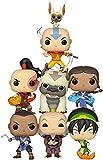 Funko Avatar Last Airbender 7pc 3.75' Pop Figure Set - Katara - Aang - Iroh - Sokka - Zuko - Toph & Appa