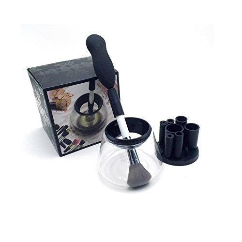 Limpiador de brochas de maquillaje–Pinceles de maquillaje de profunda limpia y seca todos los tamaño 360Degree rotación auto eléctrico limpiador de brochas de maquillaje