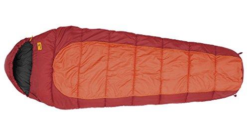 Easy Camp Nebula 250 Sac de Couchage Mixte Adulte, Orange/Rouge, Taille Unique
