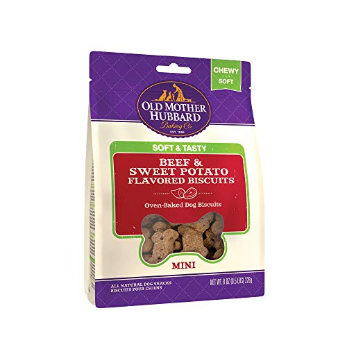 OMH Soft & Tasty Beef & Sweet Potato, 8-Ounce Bag