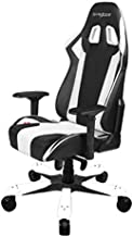 DXRacer Gaming Chair king series Black and White, GC-K06-NW-S1
