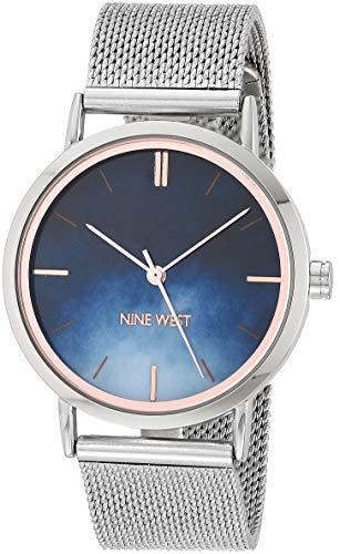Nine West Dress Watch (Model: NW/2529BLSV)