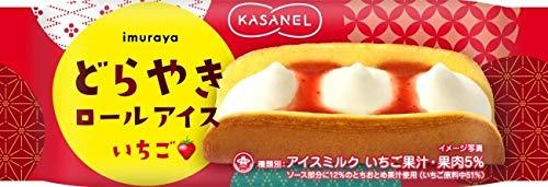 KASANEL どらやきロールアイス いちご 24個