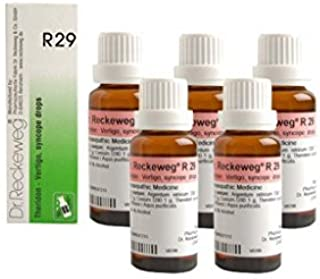 5 Pack X Dr.Reckeweg-Germany R29 Drops Homeopathic Medicine