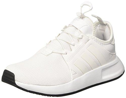 adidas X_PLR, Scarpe da Ginnastica Basse Unisex-Bambini, Bianco (Footwear White/Footwear White/Vintage White), 40 EU