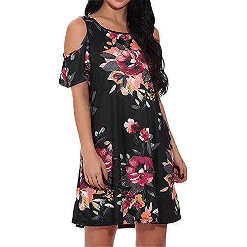 N\P Summer Dress Women Casual Long Sleeve Loose Summer Casual