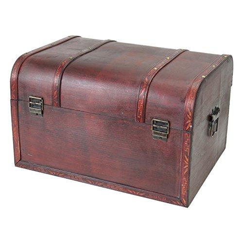 HMF 6406700 Schatztruhen aus Holz | 3er Set | Versch. Größen | Portugal - 5