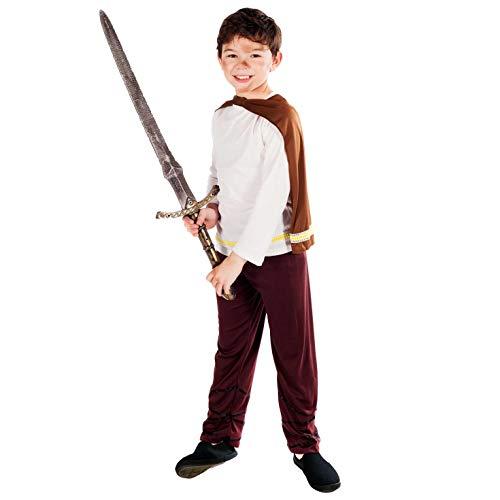 Boys Toys - Disfraz de vikingo para niño, talla 10-12 años (2498-50XL)