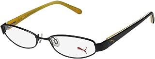 Puma 15357 Pico Mens/Womens Cat Eye Spring Hinges Optimal TIGHT-FIT Designed for Active Lifestyles Eyeglasses/Eyeglass Frame