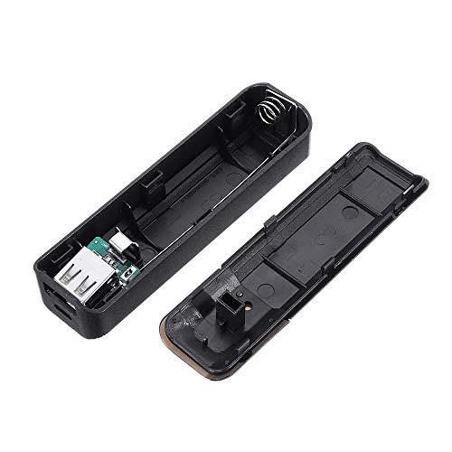 Modulo electronico Caso Módulo Banco de alimentación portátil USB cargador de móvil paquete de la caja de batería for 1x18650 DIY 20pcs banco de la energía