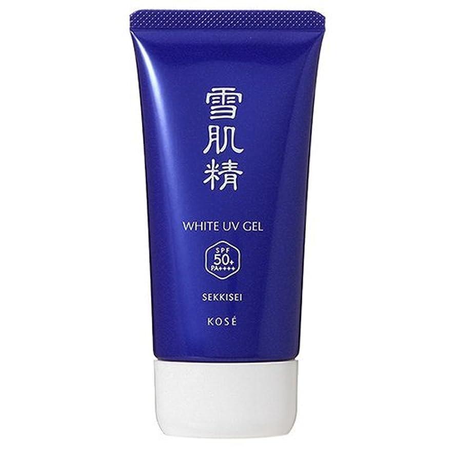 ビームパンチ透けるコーセー 雪肌精 ホワイト UV ジェル SPF50+/PA++++ 80g