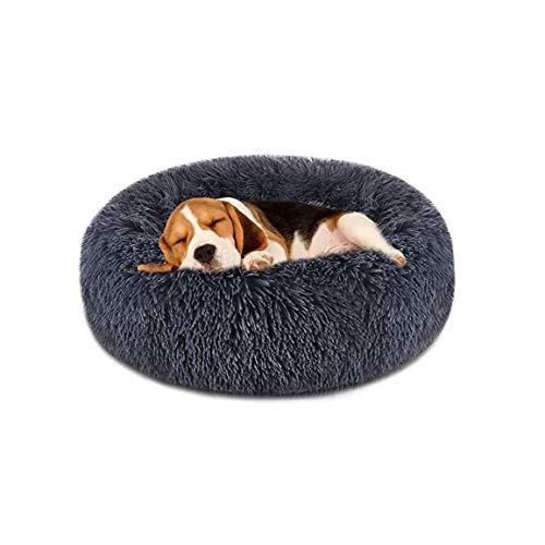 Schere Hundebett Bequeme Donut Cuddler Runde Hundebett Ultra Soft Waschbar Hund Und Katze Kissenbett 70 * 26cm