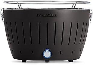 LotusGrill Standard-Holzkohlengrill mit Aktivbelüftung – Anthrazitgrau