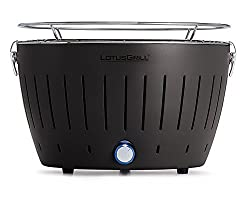 Charcoal grill with active ventilation