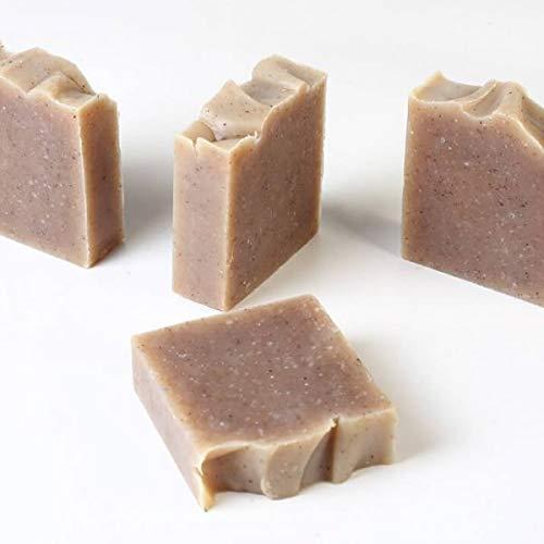d'moRe Arganseife - Bio-Kaltpresse Handgemacht - Arganseife - 100% natürliche Seife - Vegan-Vitamin E, A, C.