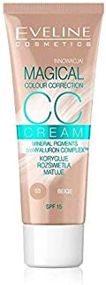 Eveline Cc Cream Magical Colour Correction, Beige 53, 30ml