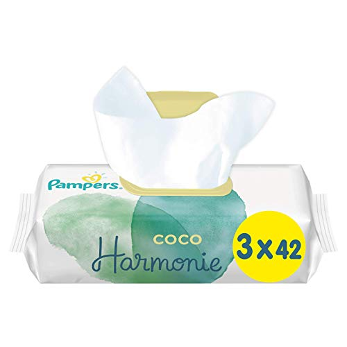 Pampers Harmonie COCO ECOM X756 Reinigungstücher (3 x 42 Stück)