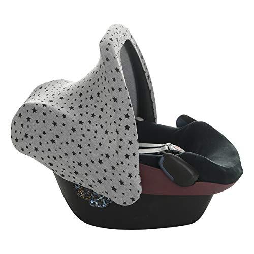 JANABEBE Capota universal compatible con Maxi Cosi (Black Star)