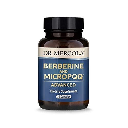Dr. Mercola, Berberine and MircoPQQ Advanced, 30 Servings (30 Capsules), Supports Immune Health, Non...