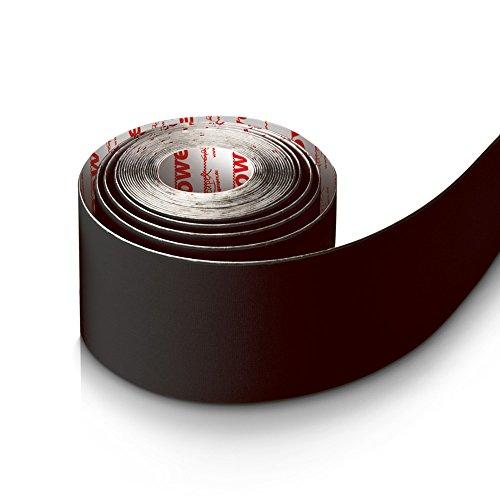 Gatapex Nylon Kinesiology-Tape 5cm x 5m für Kinesiology- und Power-Taping schwarz
