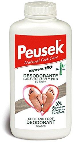Peusek Express 150, Desodorante en polvo para pies y calzado, 150 g