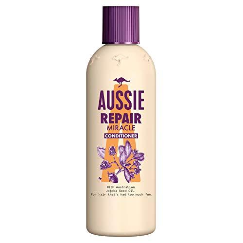 Aussie Repair Miracle Pflegespülung Für Geschädigtes Haar, 250 ml, Conditioner, Mit Jojobasamenöl, Mit Jojobasamen Öl, Trockene Haare Conditioner, Haarpflege Trockenes Haar