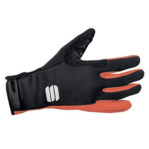 Sportful Guantes Essential XC Negro/Naranja-L