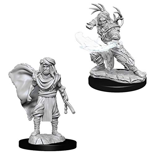 NECA D&D Nolzurs Marvelous Unpainted Miniatures: Wave 6: Human Male Druid