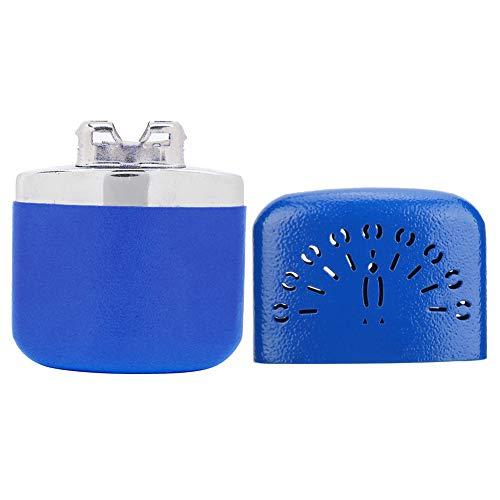 Calentador de manos de aspecto hermoso, calentador de manos portátil, esquí de alta eficiencia económica para viajes en casa, camping(blue)