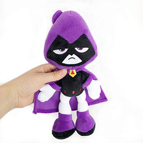 Dondonmin Teen Titans Go Muñecas Juguetes de Peluche Animado de Peluche de Juguete Suave muñeca de la Felpa Juguetes Divertidos Unisex Juguetes (Color : A01, Size : 27cm)